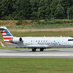 Date:  6/18/17 - Location:  KCLT Dep/Arv/Enr:  Dep - RW/Taxi/Ramp:  RW18C Manufacturer:  Bombardier Model:  CL600-2B19 CRJ200LR - RegNmb:  N451AW C/N:  7832 Misc:  Operated by Air Wisconsin