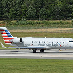 Date:  6/18/17 - Location:  KCLT Dep/Arv/Enr:  Dep - RW/Taxi/Ramp:  RW18C Manufacturer:  Bombardier Model:  CL600-2B19 CRJ200ER - RegNmb:  N242JS C/N:  7911 Misc:  Operated by PSA Airlines