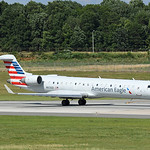 Date: 6/18/17 - Location: KCLT Dep/Arv/Enr: Dep - RW/Taxi/Ramp: RW18C Manufacturer: Bombardier Model: CL600-2C10 CRJ701ER - RegNmb: N613QX C/N: 10045 Misc: Operated by Express Jet