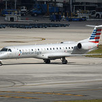 Date: 2/9/17 - Location: KMIA Dep/Arv/Enr: Dep - RW/Taxi/Ramp: RW27 Manufacturer: Embraer Model:  ERJ145LR - Reg/Nmb: N686AE C/N:  14500843 Misc: Operated by Envoy