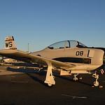 Date:  10/22/16 - Location:  KPGD Dep/Arv/Enr:  n/a - RW/Taxi/Ramp:  n/a Manufacturer:  North American Aviation Model:  T-28C - Reg/Nmb:  N28YM Markings:  WS-08/MARINES/146287/N28YM Misc:   ...
