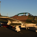 Date: 10/22/16 - Location: KPGD Dep/Arv/Enr: n/a - RW/Taxi/Ramp: n/a Manufacturer: North American Aviation Model: T-28C - Reg/Nmb: N4168E Markings: