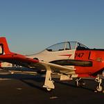 Date:  10/22/16 - Location:  KPGD Dep/Arv/Enr:  n/a - RW/Taxi/Ramp:  n/a Manufacturer:  North American Aviation Model:  T-28C - Reg/Nmb:  NX7160C Markings:  747-D/NAVY/VT-27/T-28C/146262/NX7 ...