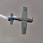 Date:  11/06/16 - Location:  KSUA Dep/Arv/Enr:  Enr - RW/Taxi/Ramp:  n/a Manufacturer:  North American Aviation Model:  T-28B - RegNmb:  N28XT - SerBuNo:  138339 Markings:  US AIR FORCE/4400 ...