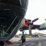Date: 1/22/13 - Location: KZPH Dep/Arv/Enr: n/a - RW/Taxi/Ramp: n/a Manufacturer: Consolidated Aircraft Model: B-24J - Reg/Nmb: N224J Markings: Audre/